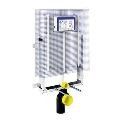 Cassetta wc a incasso GEBERIT GBR110.790.00 pulsante doppio comando 9 L