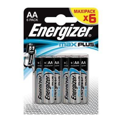 Pila LR06 AA ENERGIZER Max Plus BP6 6 batterie