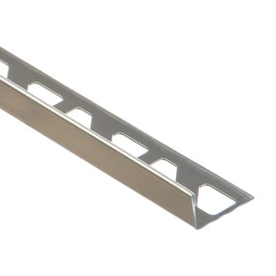 Profilo angolare interno inox 1.23 x 250 cm
