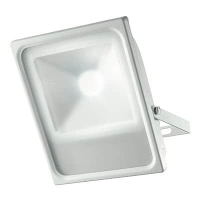 Proiettore LED integrato KRONOS/50W in alluminio, argento, 50W 4000LM IP65