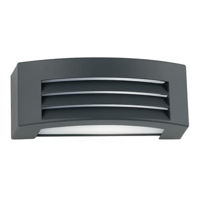 Applique per giardino DENVER-AP in alluminio, nero, E27 MAX42W IP54