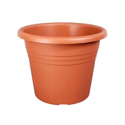 Vaso Isola in plastica colore cotto H 16 cm, Ø 20 cm