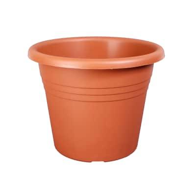 Vaso Isola in plastica colore cotto H 23 cm, Ø 30 cm