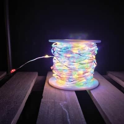 Catena luminosa 500 lampadine LED multicolore 3750 cm