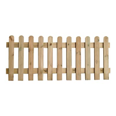 Recinzione Eco in legno L 180 x H 70 x P 3 cm