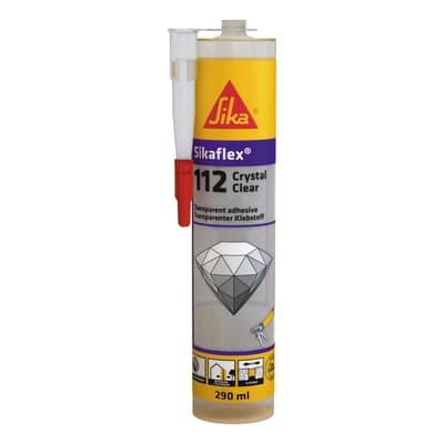 Silicone SIKA Sikaflex-112 Crystal Clear trasparente 290 ml