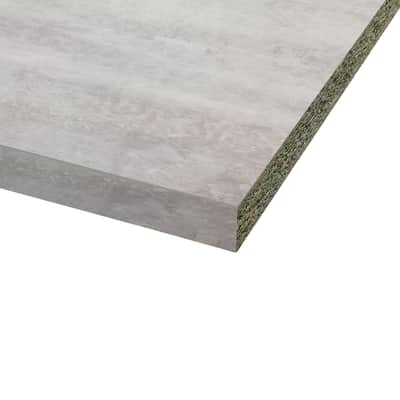 Piano cucina grigio cemento  Top