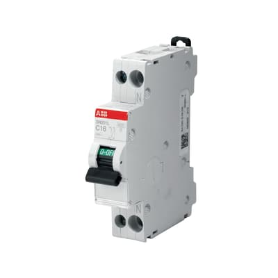 Interruttore magnetotermico ABB ELSN201LC6 1P +N 6A 4.5kA C 1 modulo 230V