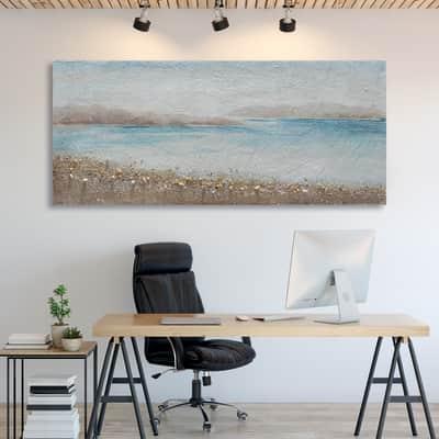 Dipinto originale Mare 65x150 cm