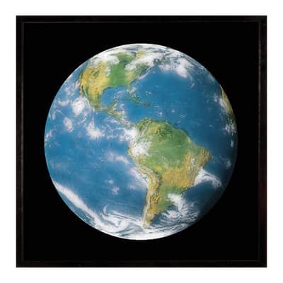 Stampa incorniciata Globe ii 50.7x50.7 cm