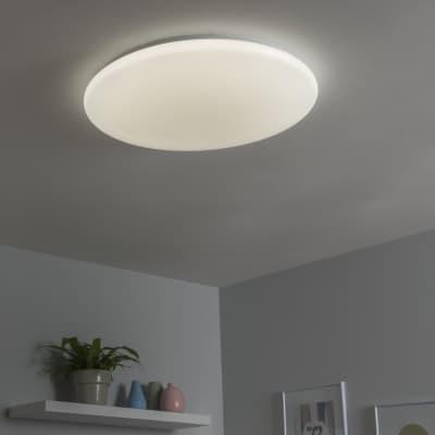 Plafoniera moderno Vizzini LED integrato bianco D. 56 cm 56 cm, INSPIRE