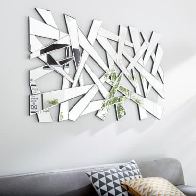 Specchio A parete destrutturato Eclat 110x70 cm INSPIRE
