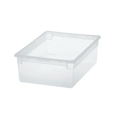 Contenitore Light Box L 27.8 x H 13.2 x P 39.6 cm trasparente