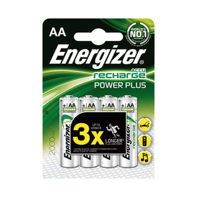 Pila ricaricabile AA ENERGIZER Recharge 4 batterie