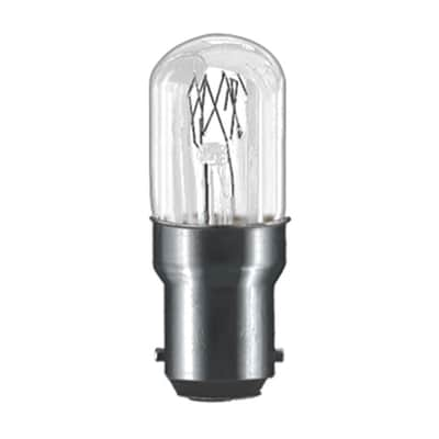 Lampadina Incandescente, B15, Bulbo, Trasparente, Luce calda, 15W=75LM (equiv 15 W), 180° , PAULMANN