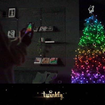 Catena luminosa 400 lampadine LED multicolore TWINKLY 3200 cm