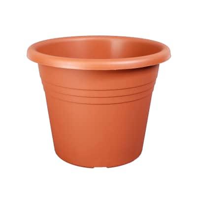 Vaso Isola in plastica colore cotto H 36 cm, Ø 50 cm