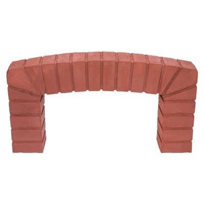 Arco decorativo per forno F2 e F3 L 84 x P 10 x H 48 cm