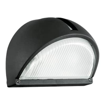 Applique Onja in fusione di alluminio, nero, E27 MAX60W IP44 EGLO