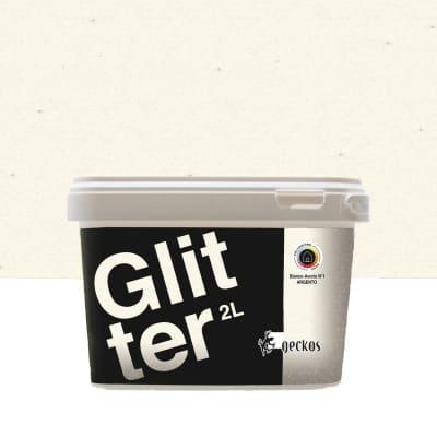 Pittura decorativa Glitter 2 l bianco avorio 1 effetto ...