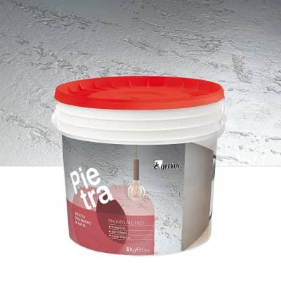 Pittura decorativa GECKOS Pietra 8 kg bianco pietra