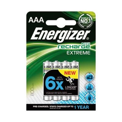 Pila LR03 AAA ENERGIZER Recharge 4 batterie