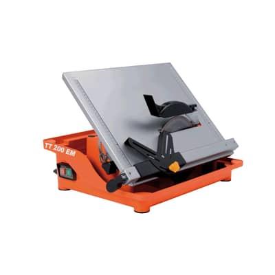 Tagliapiastrelle elettrica NORTON TT 200 EM Ø disco 200 mm, H taglio 40 mm, 800 W