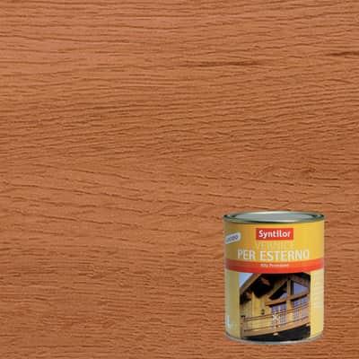 Vernice per legno da esterno liquido SYNTILOR 1 L teak lucido