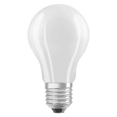 Lampadina LED filamento, E27, Goccia, Opaco, Luce calda, 2.8W=250LM (equiv 25 W), 320° , OSRAM