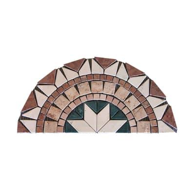 Ventaglio Ancona H 30 x L 60 cm multicolore