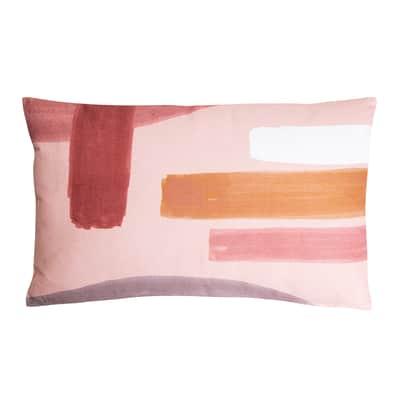 Cuscino Zita rosa 30x50 cm
