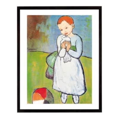 Stampa incorniciata Nen 20.7x20.7 cm