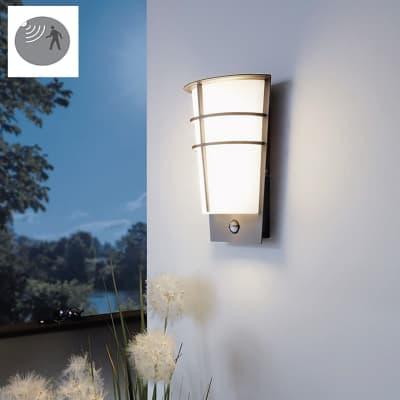 Applique Breganzo LED integrato in acciaio galvanizzato, antracite, 2.5W 180LM IP44 EGLO