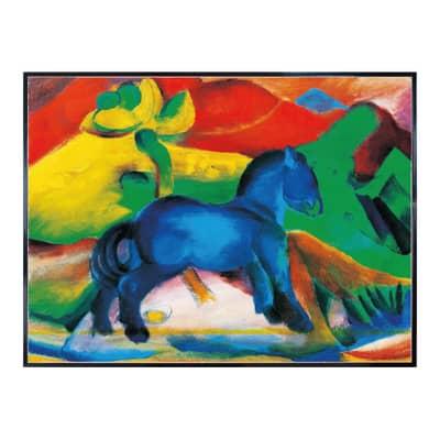 Stampa incorniciata Blaues Pferd F.Marc 60.7x80.7 cm