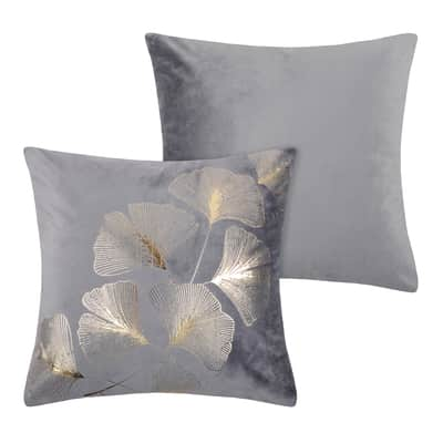 Cuscino Ginnan Perle grigio perla 40x40 cm