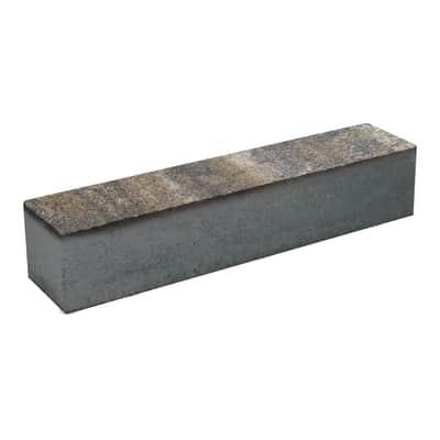 Cordolo in pietra ricostituita CORDOLO MIX LUSERNA 10X10,5X50 L 10 x H 10.5 cm Sp 10 cm