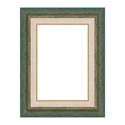 Cornice Mark verde per foto da 50x70 cm