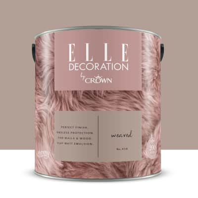 Pittura murale ELLE DECORATION 2.5 L weaved no.438. Prezzo ...