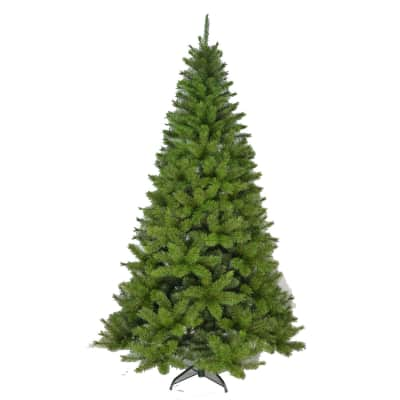 Albero di natale artificiale verde H 150 cm,