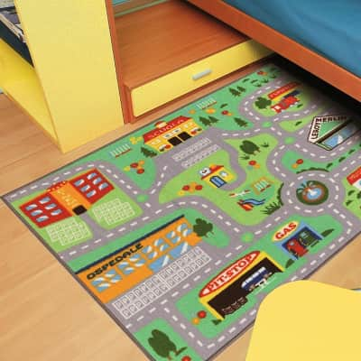 Tappeto Playrug Bimbo , multicolor, 100x120