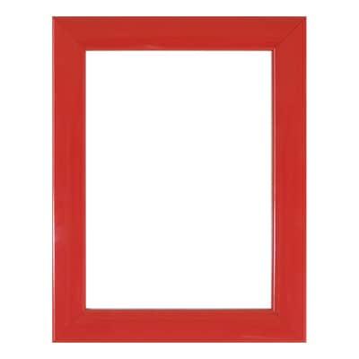 Cornice INSPIRE Bomber rosso per foto da 18x24 cm