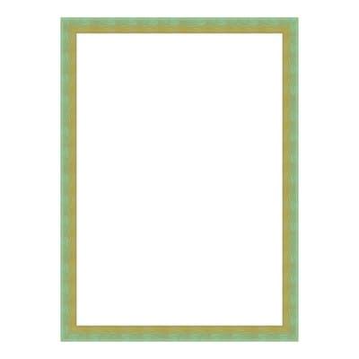 Cornice INSPIRE Bicolor verde / giallo per foto da 18X24 cm