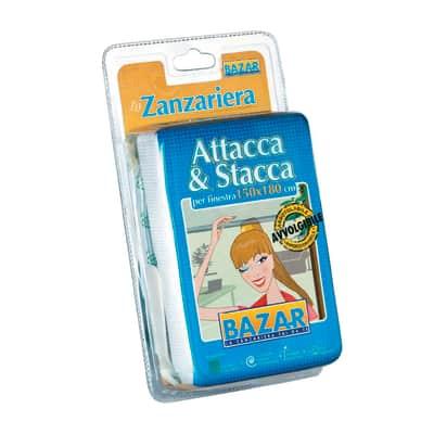 Tela per zanzariera Attacca & Stacca L 120 x H 180 cm bianco
