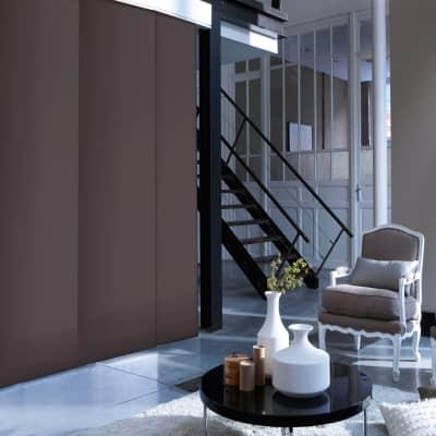 Pannello giapponese INSPIRE resinato Molly cioccolato 60x300 cm