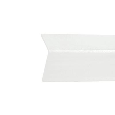 Paraspigolo in pvc bianco 3 m x 50 mm, Sp 3 mm