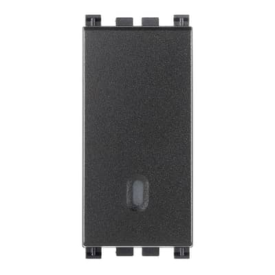 Deviatore Arke smart VIMAR grigio / argento