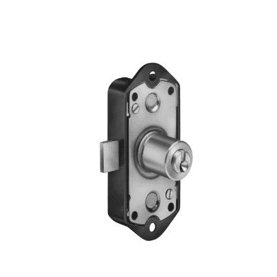 Serratura a incasso cilindro per cancello o rete, entrata 0 cm, interasse 0 mm