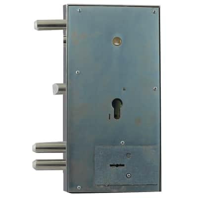 Serratura a incasso doppia mappa per per porta di ingresso, entrata 0 cm, interasse 0 mm