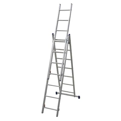 Scala a sfilo FACAL Stilo in alluminio 3x7 gradini per lavori fino a 5.1 m