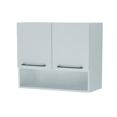 Mobile lavanderia Lavatrice bianco rivestito L 75 x P 35 x H 104 cm